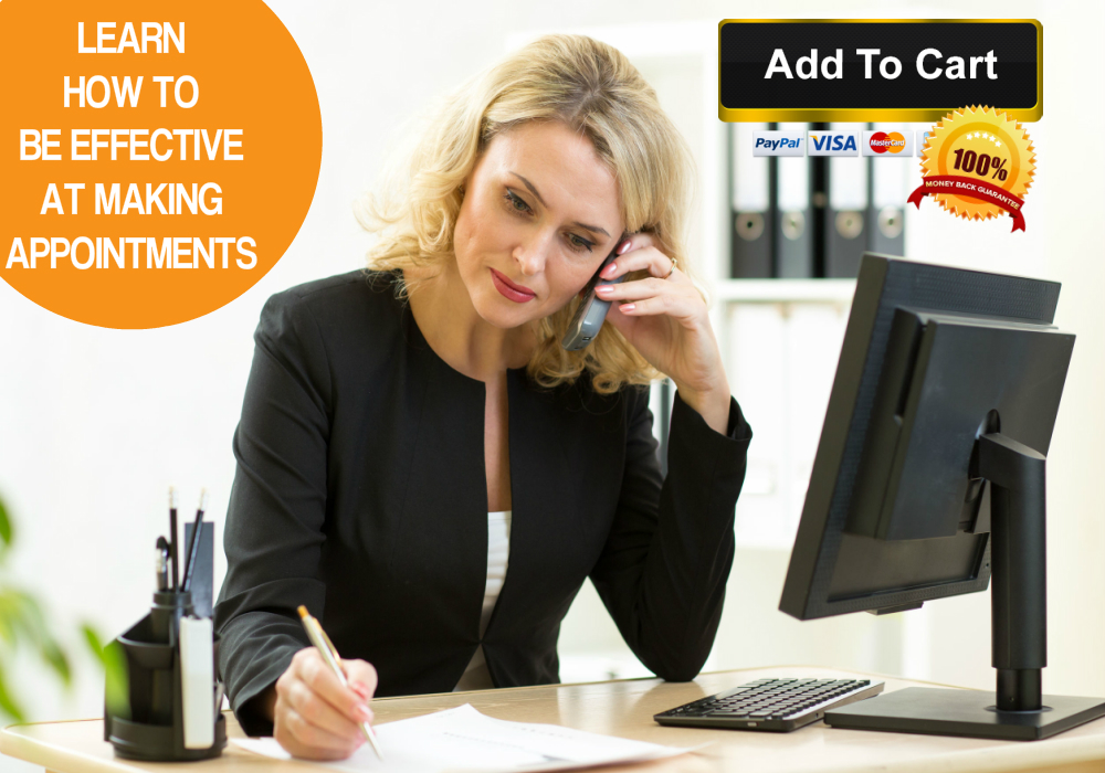 Learn how to make appointments successfully with this incredibly affordable Making Appointments Online Training Course.