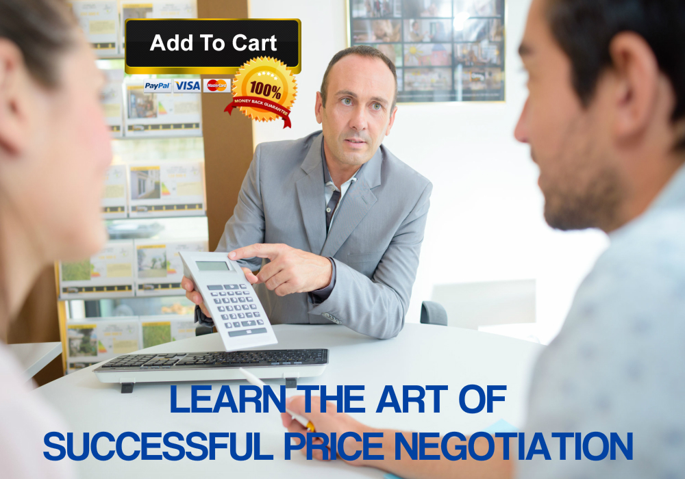 Learn the art of successful negotiation with this highly effective Price Negotiation Sales Training Course.