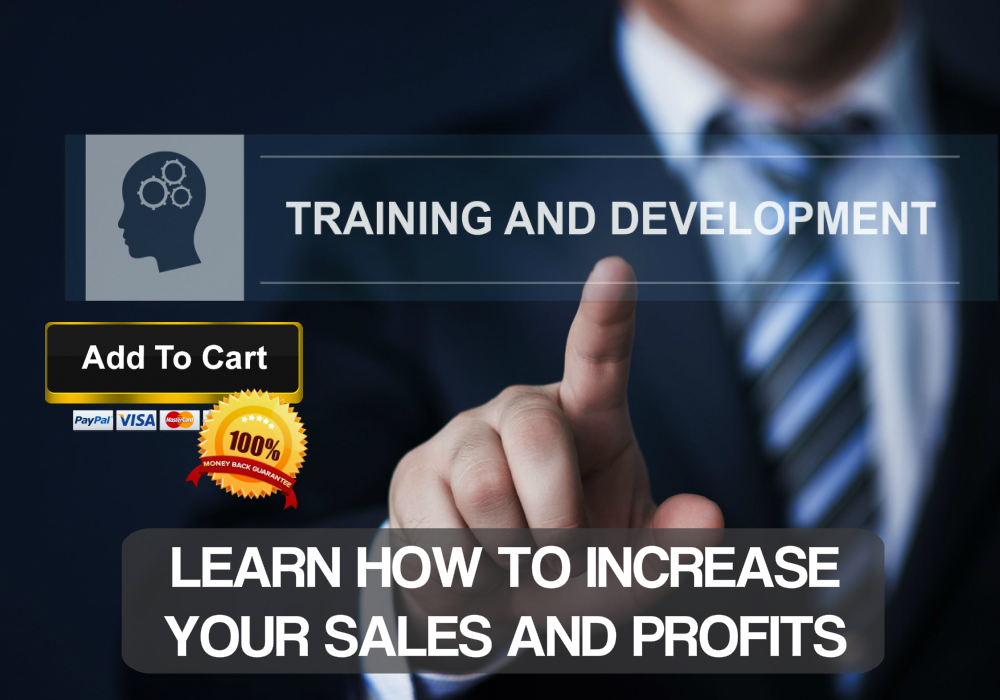 Business coach specialist offers cost effective online sales training course.